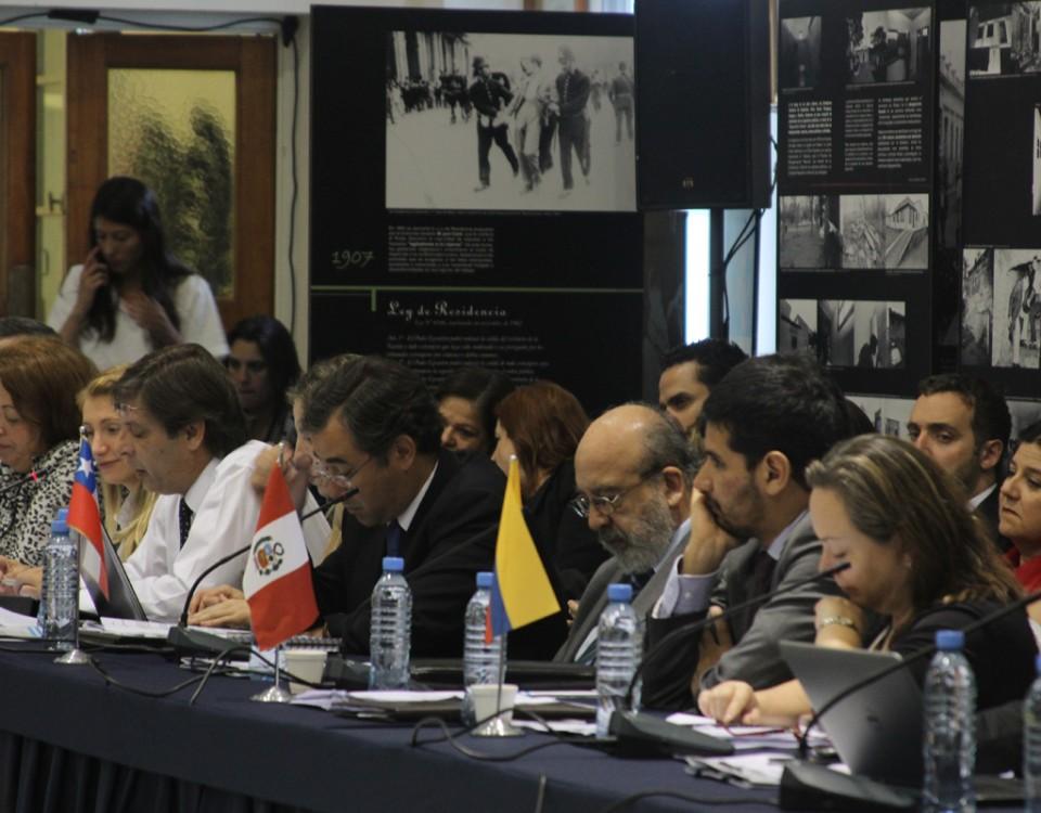 Agenda de reuniões da XXVI RAADH em Brasília